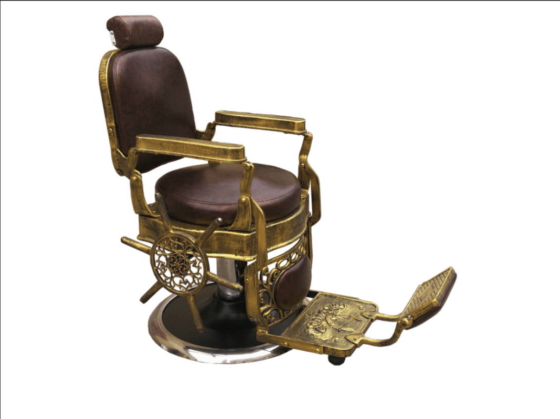 China Classic Style Barber Chair Supplier Heavy Duty China Vintage Barber Chair Manufacturer DS-T251B