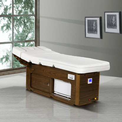 wood modern bed with storage massage bed with massage and music wholesale china DS-W20228