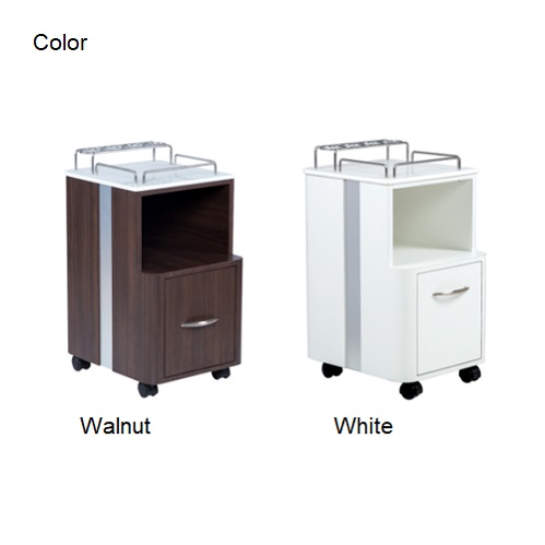 china spa pedicure cart rolling pedicure trolley for pedicure spa nail salon furniture DS-P202