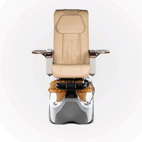Orange pedicure chair luxury nail salon chairs nail care furniture of wholesale spa pedicure chair factory