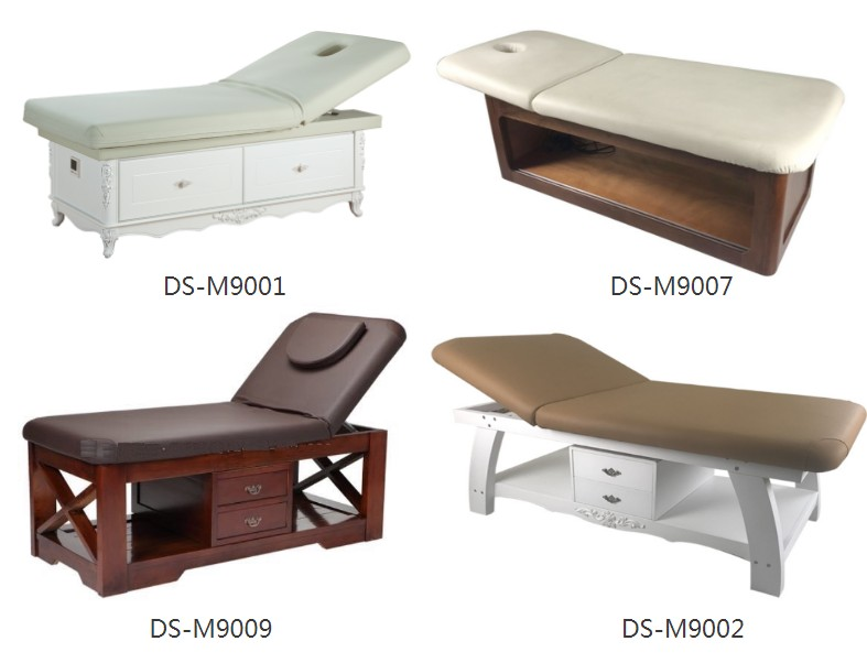 wooden massage bed manufacturer