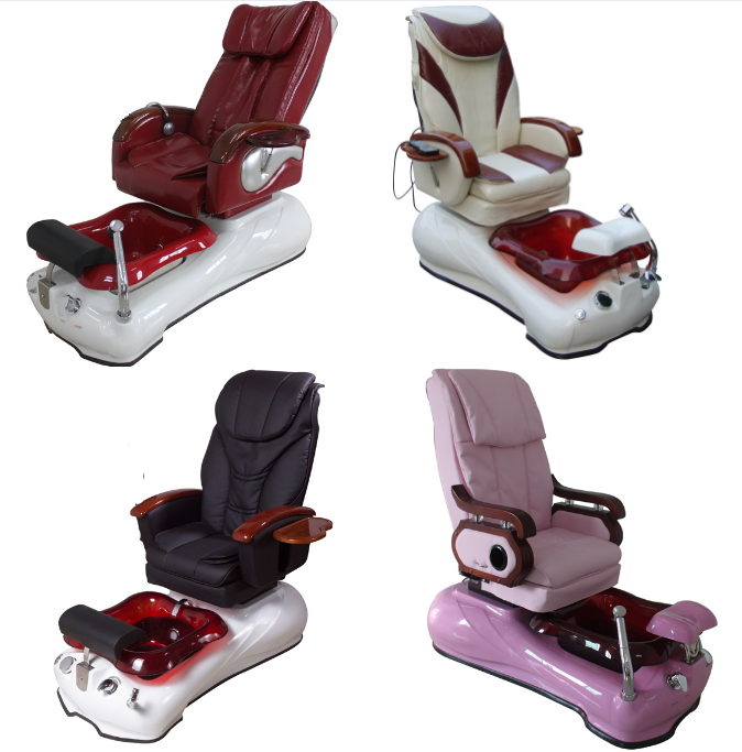 wholesale spa chair foot bath massage chair manufacturer china of spa pedicure chair for sale DS-8028