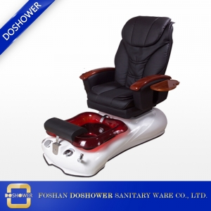 2018 pedicure chair factory Hottest wholesale beauty massage pedicure spa salon chairs with foot basin DS-2196