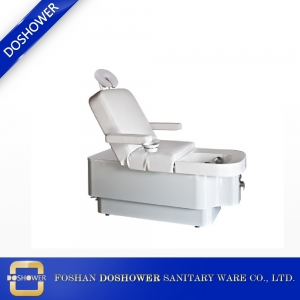 All in one pedicure bed with massage bed and manicure pedicure basin