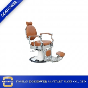 Barber scissors set hairdressing with portable barber chair for luxury barber chair