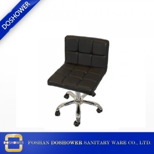 Black Nail Tech Master Chair For Sale of Salon Equipment DS-C1