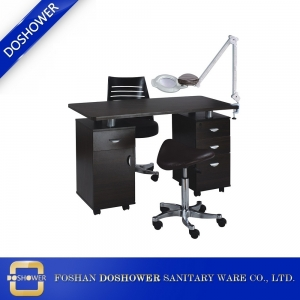 High Quality Manicure Table Nail Station Salon Beauty Manicure Nail Table Manufacturer and Supplier China DS-W1990