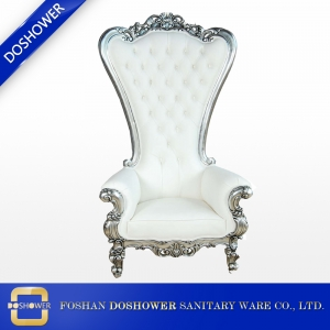 High back luxury throne chair of spa pedicure chair manufacturer