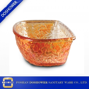 Pedicure Spa Chair and pedicure tub glass bowl of pedicure bowl wholesales in china