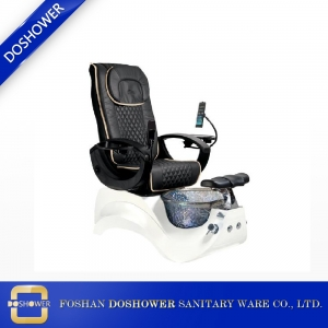 Pedicure chair Pipe less system with hydro massage and manicure armrest