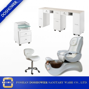 Pedicure chair wholesale with nail manicure table manufacturer for salon equipment and furniture