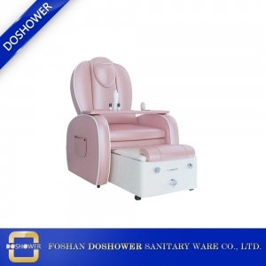 Salon set package furniture with pedicure massage chair foot spa for manicure pedicure chair