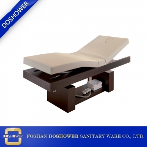 Strong Heavy Duty Solid Wood Beauty Salon Bed Massage Bed Manufacturer and Supplier China DS-W1798