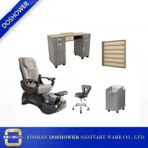 Wholesale Manicure Table and Pedicure Chair Manicure Chair Nail Furniture Supplies DS-S15C SET