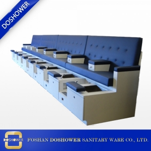 beauty salon pedicure wood  bench station with pedicure spa bench of custom pedicure station DS-W29