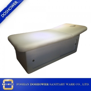 beauty treatment bed spa bed Wood Massage Bed with Storage Manufacturer China DS-M9008