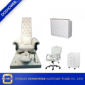 china king throne pedicure chair manufacturer wholesale cheap queen pedicure spa chair DS-Queen Chair Set