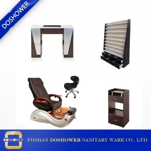china nail salon pedicure chair supplier pipeless pedicure spa chair of spa pedicure chair manufacturer DS-S17 SET