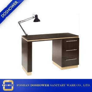 china nail table supplier modern nail table with fan customized manicure table for nail salon DS-N2012