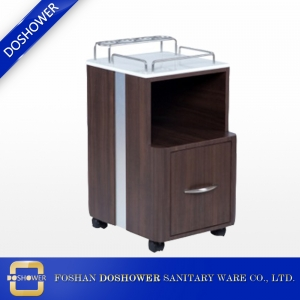 china spa pedicure cart rolling pedicure trolley for pedicure spa nail salon furniture DS-PC202