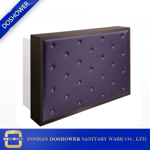 custom made reception desk salon front reception counter desk manufacturer china DS-W1845