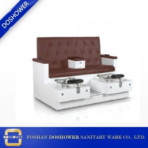 double seat pedicure chair with fiberglass pool factory wholesale throne pedicure chairs