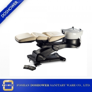 hair salon furniture hot sale lay down washing hair shampoo bed suppliers china