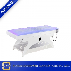 heated water massage table innovative spa bed china milking massage table