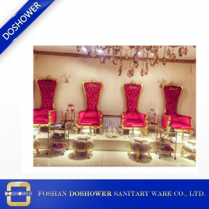 luxury royal king throne chairs with furniture antique throne pedicure chair of spa salon wholesale pedicure chairs