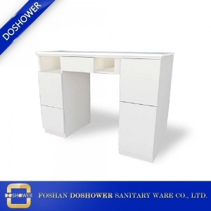 manicure table nail salon furniture china manicure table with dust collector manufacturer DS-N2026