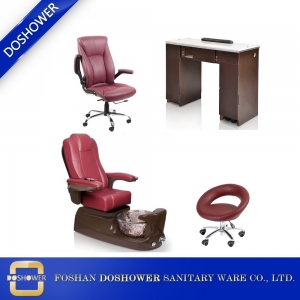 manicure tables and pedicure chairs footsie bath pedicure spa chair china manufacturer DS-W1785D SET