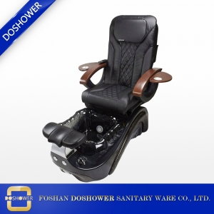 massage spa equipment with salon black pedicure chair for sale of pedicure spa chair manufacturer DS-W19116