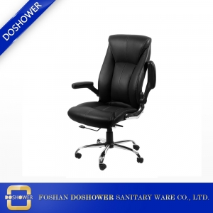 nail salon furniture rotating swivel mechanism salon customer chairs with memory foam seat cover