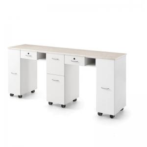 Double Manicure Table Folding Manicure Table Manicure