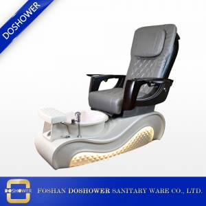 nails salon newest pedicure chair manufacturer china white luxuary pedicures chair china DS-W2020
