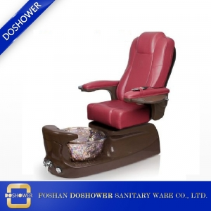 pedicure chair for sale with pipe-Less whirlpool motor of salon furniture foot spa chair