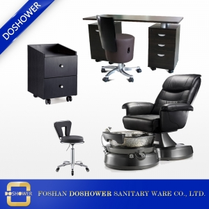 pedicure chair station with salon furniture package of pedicure foot massage chair suppliers