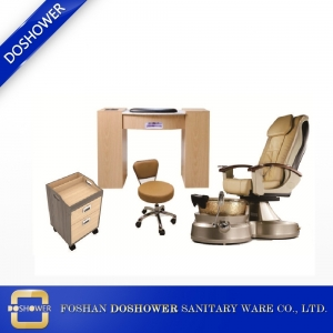 pedicure chair wholesale and manicure table of spa equipment wholesale