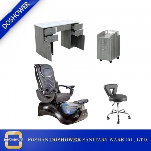 pedicure chair wholesale nail table manicure table nail salon furniture package china DS-S15A SET