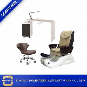 pedicure spa chair supplier china with manicure table manufacturers for Whirlpool Nail Spa Salon Pedicure Chair / DS-W1783-SET