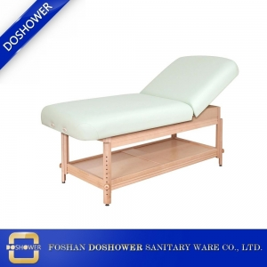solid wood massage bed factory facial bed jade massage bed for beauty salon DS-M932