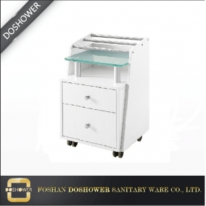 spa trolley cart with cheap salon trolley for pedicure cart