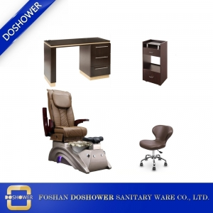 wholesale pedicure chair set luxury nail spa chair cheap spa pedicure chair salon furniture DS-X22 SET