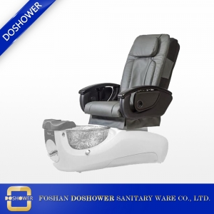 wholesale pipeless cheap used spa pedicure chairs glass bowldimensions pedicure foot massage chair factory