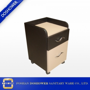 wooden nail salon trolley pedicurecart DS-PC212