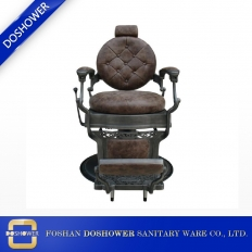 China Barber Chair Brown Manufacturers adjustable antique barber chair for the latest barbers chair factory