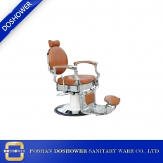 China Barber scissors set hairdressing with portable barber chair for luxury barber chair factory
