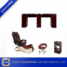 China Best Pedicure Chair wholesale china with china foot spa pedicure chair manufacturer of nail salon furniture supplies DS-W02A SET factory