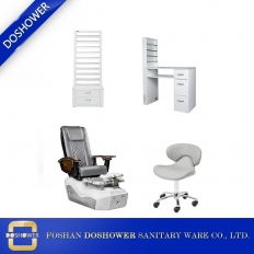 China Best Salon Package Deal For Pedicure Chair with Manicure Table Salon Furniture Wholesaler DS-L1902 SET factory