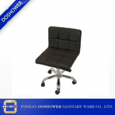 La fábrica de China Black Nail Tech Master Chair para la venta de equipos de salón DS-C1